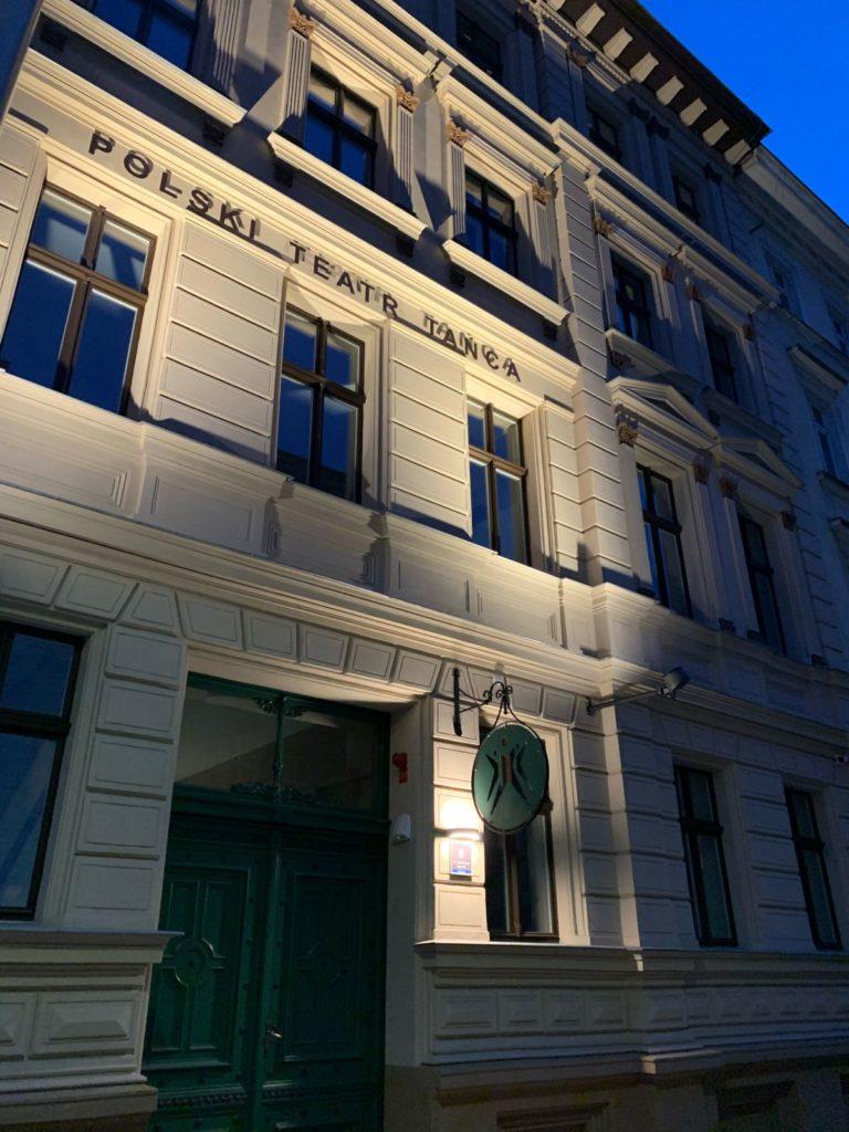 """Adaptacja budynków wPoznaniu przy ul.Taczaka 8 napotrzeby """"Polskiego Teatru Tańca"""""""